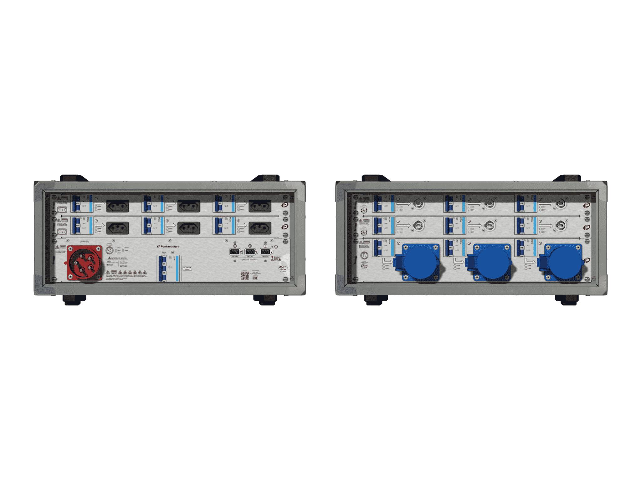 Main power RMP-32se, 5 polos, 3F+N (220VD/127VY), V015