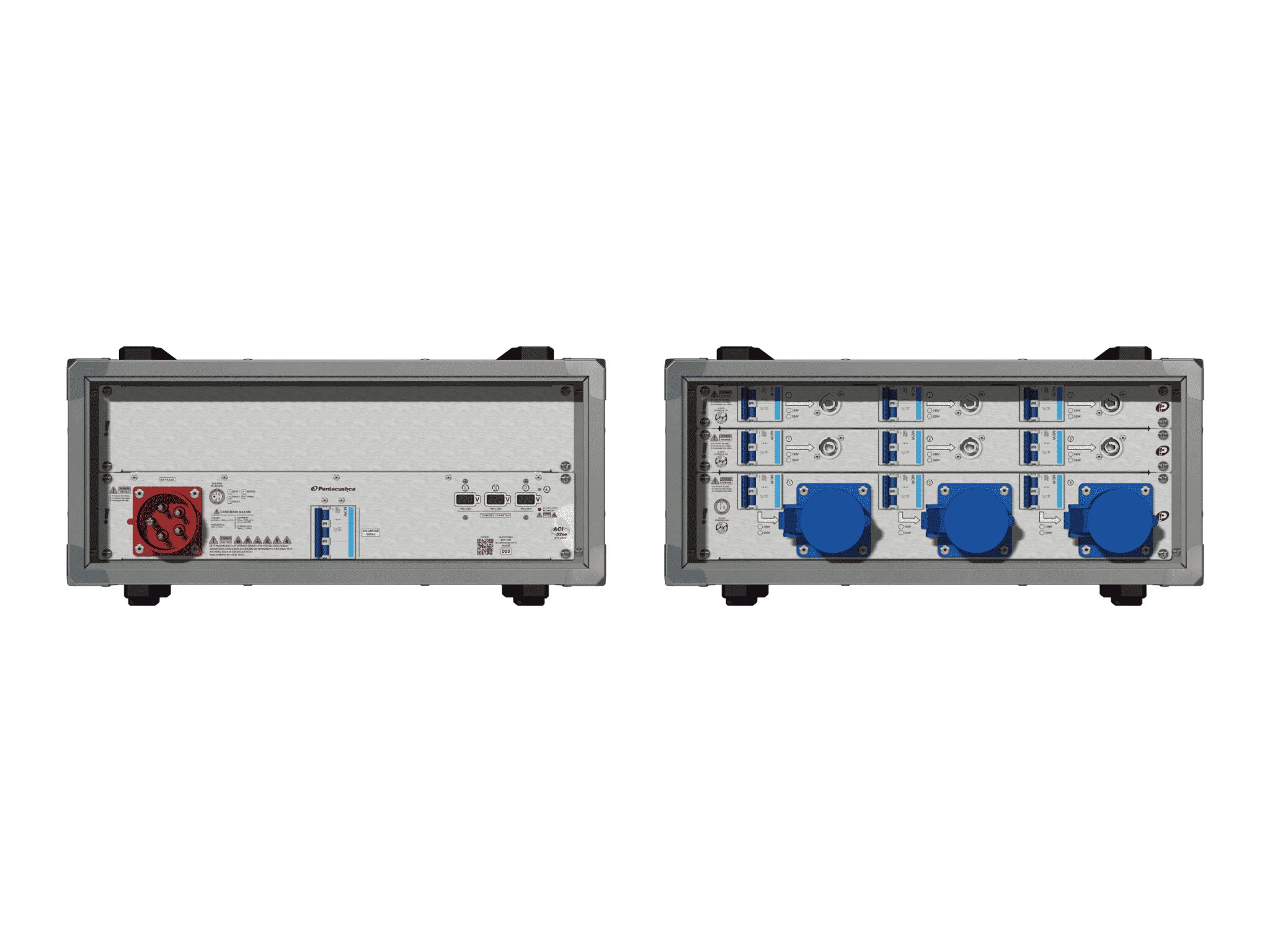 Main power RMP-32se, 5 polos, 3F+N (220VD/127VY), V018