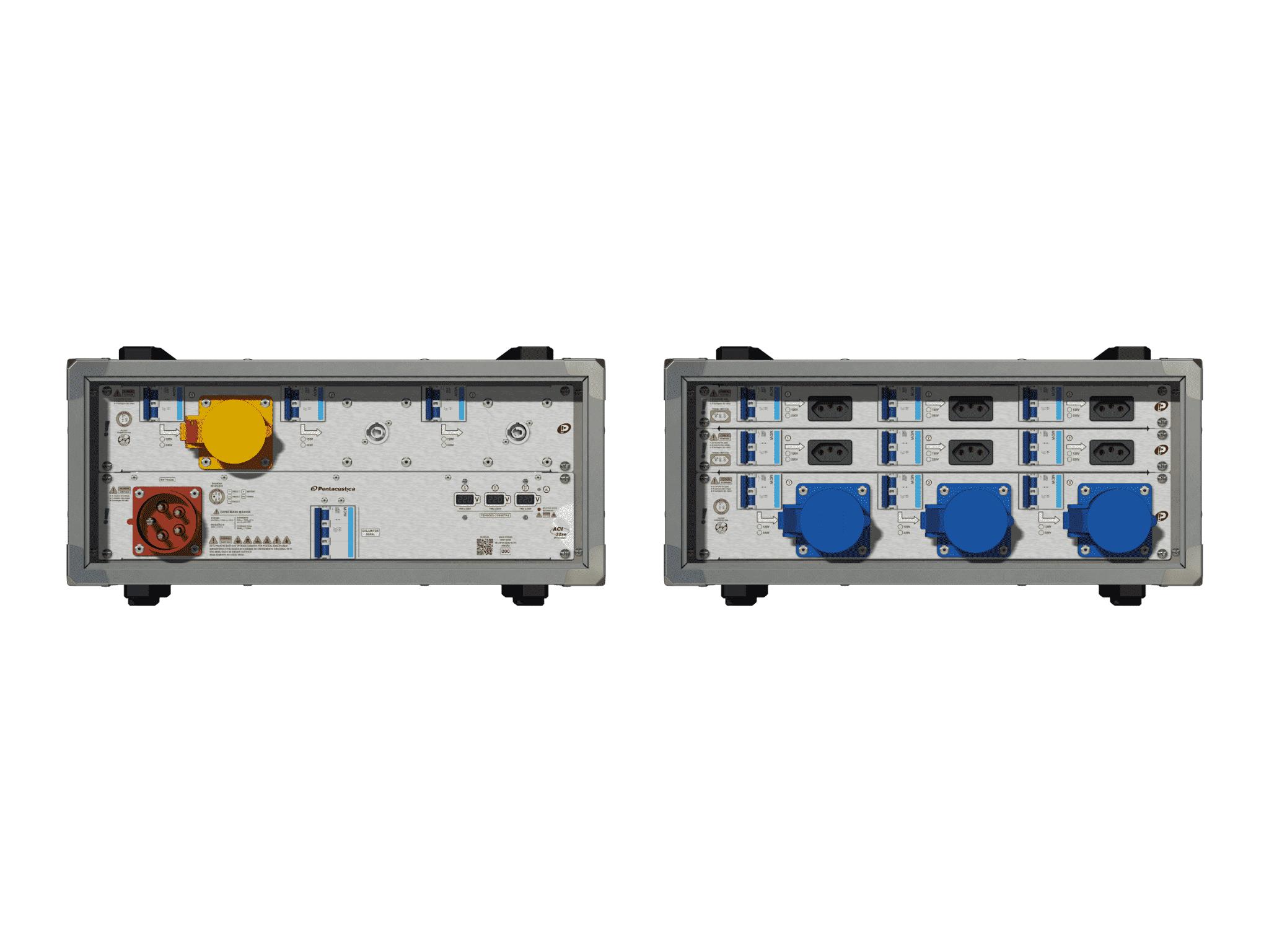 Main power RMP-32se, 5 polos, 3F+N (220VD/127VY), V026