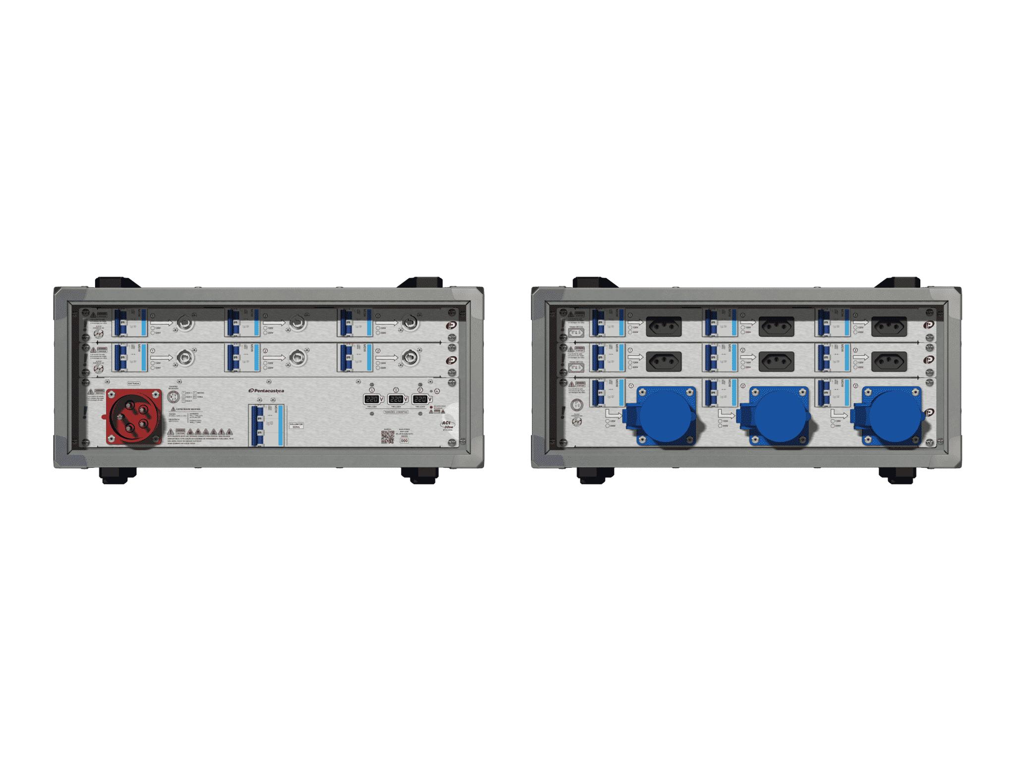 Main power RMP-32se, 5 polos, 3F+N (220VD/127VY), V027