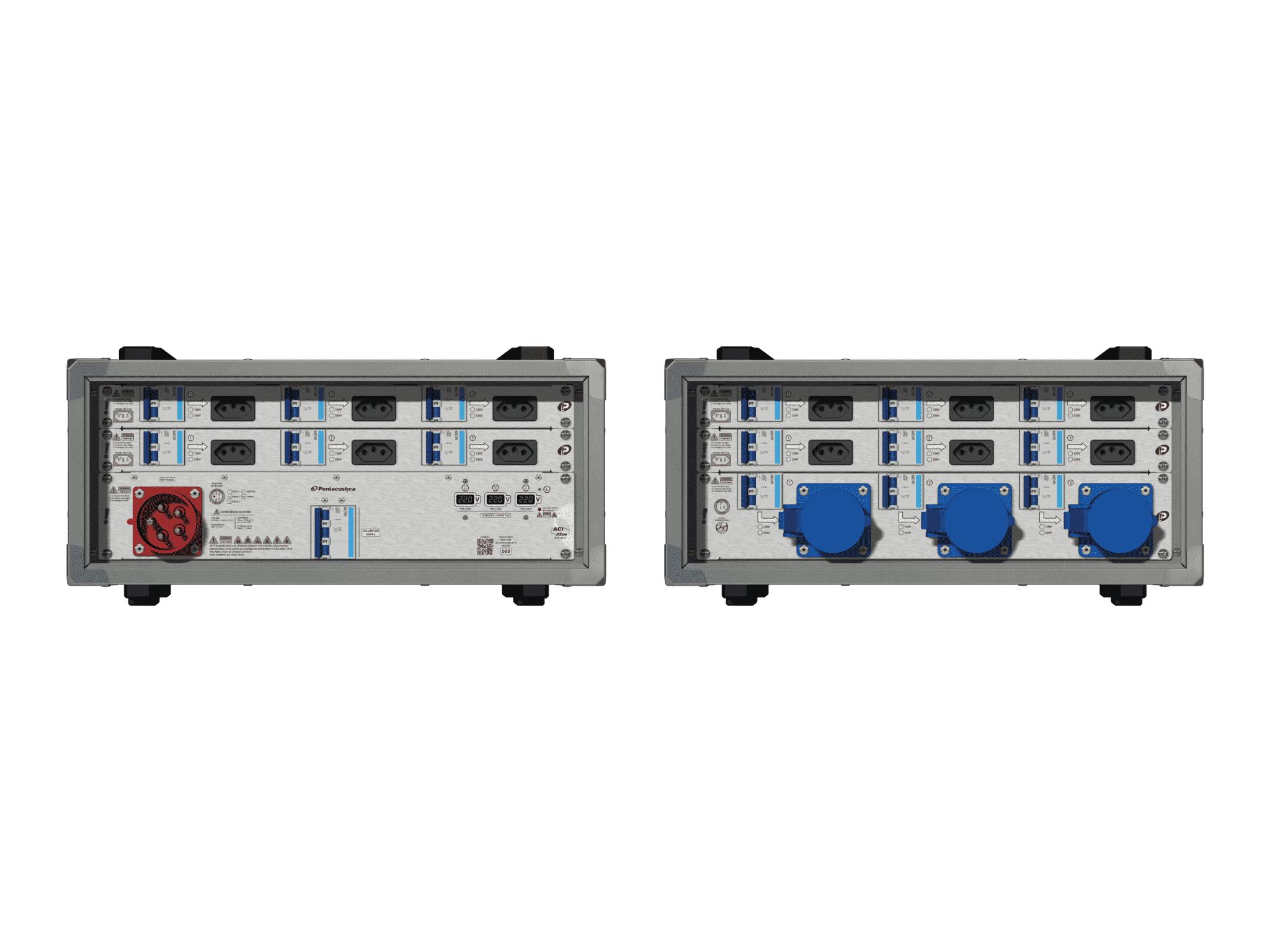 Main power RMP-32se, 5 polos, 3F+N (220VD/127VY), V028