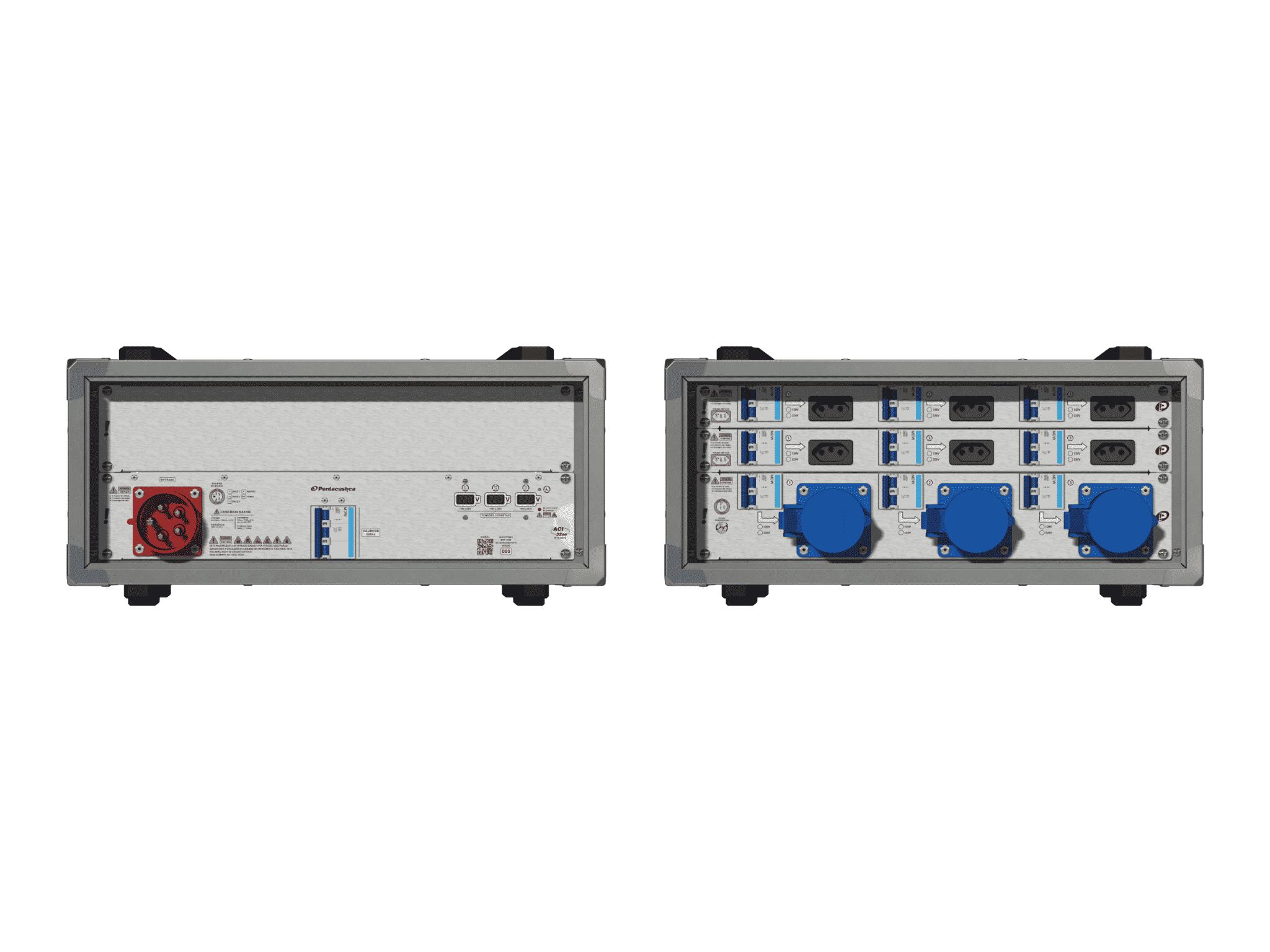 Main power RMP-32se, 5 polos, 3F+N (220VD/127VY), V031