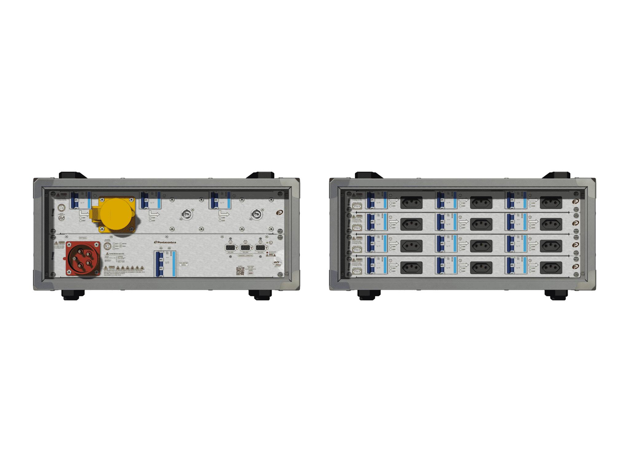 Main power RMP-32se, 5 polos, 3F+N (220VD/127VY), V100