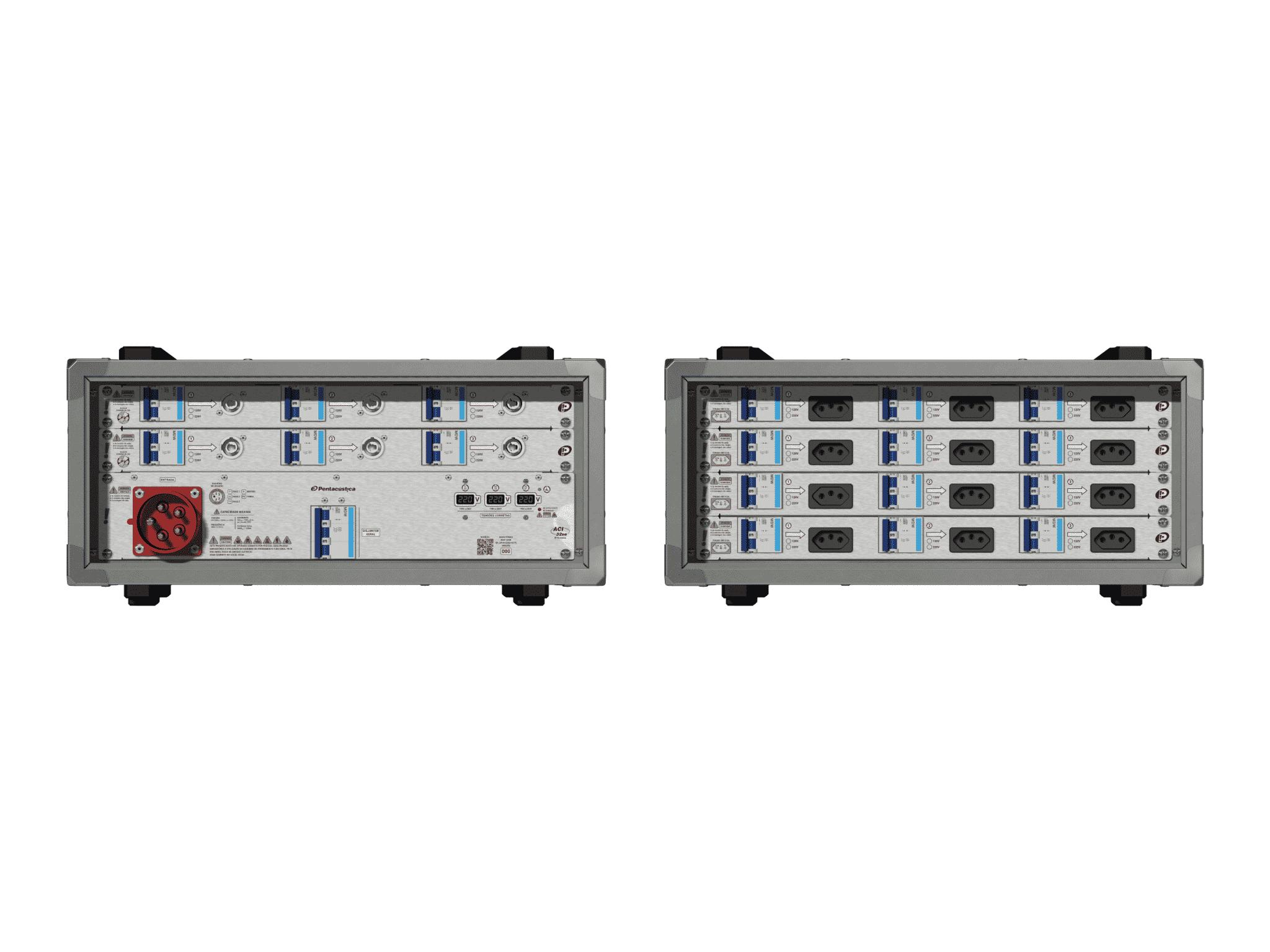 Main power RMP-32se, 5 polos, 3F+N (220VD/127VY), V101