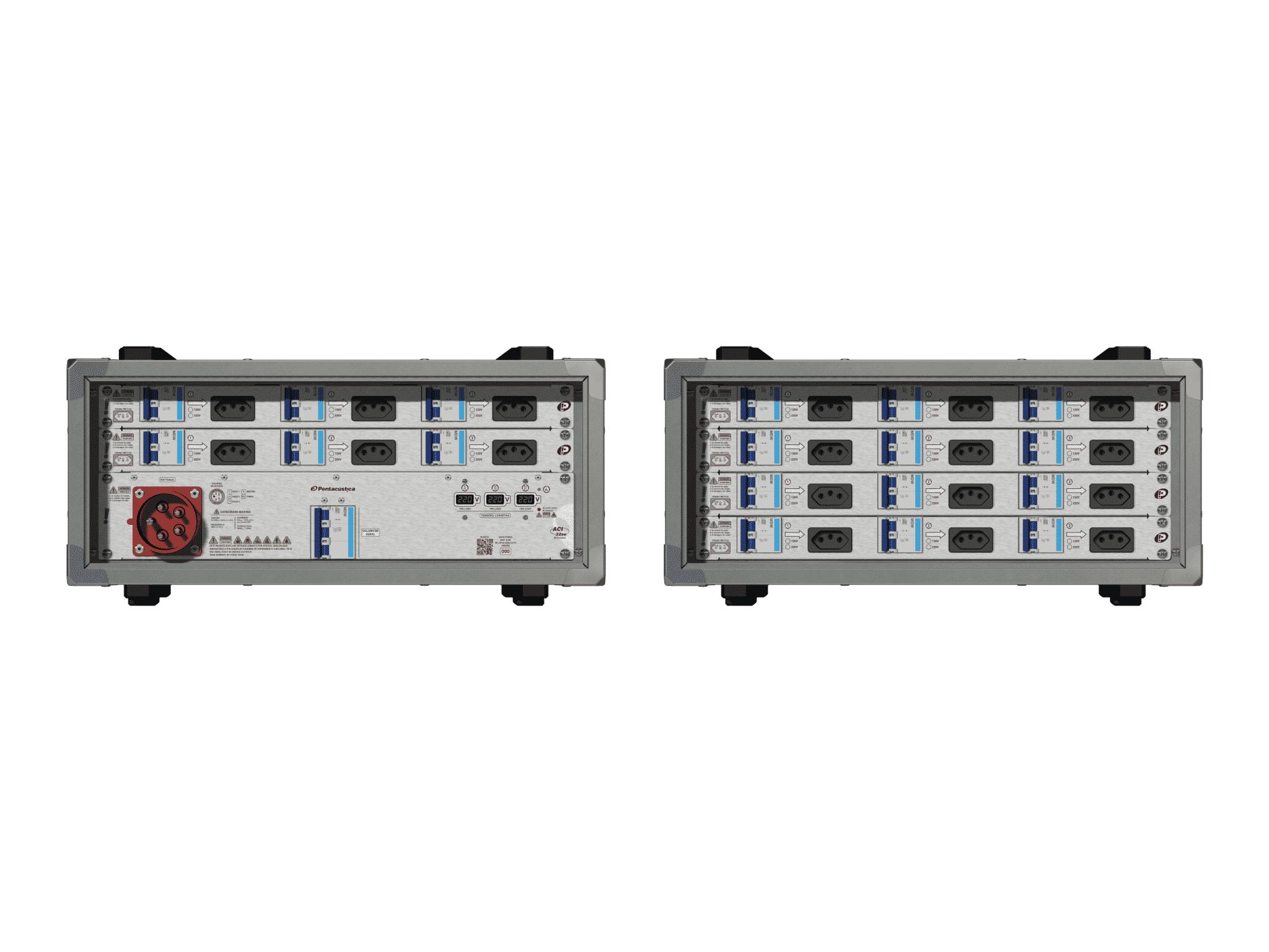Main power RMP-32se, 5 polos, 3F+N (220VD/127VY), V102