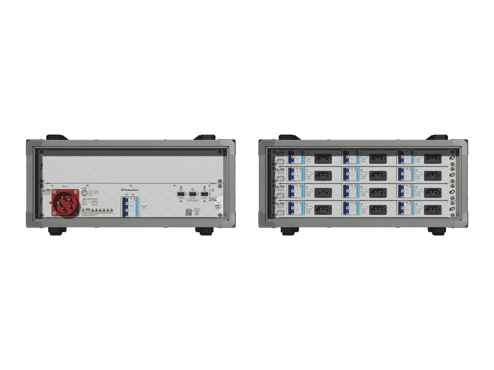 Main power RMP-32se, 5 polos, 3F+N (220VD/127VY), V105