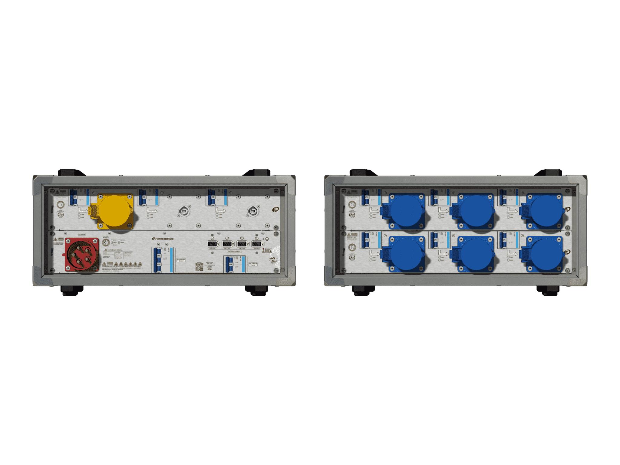 Main power RMP-32se, 5 polos, 3F+N (380VD/220VY), V001
