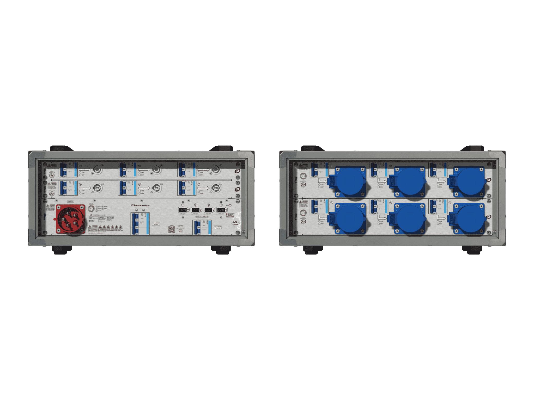 Main power RMP-32se, 5 polos, 3F+N (380VD/220VY), V002