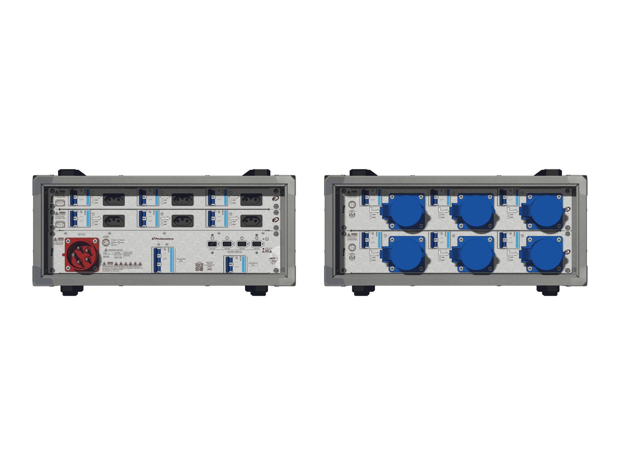 Main power RMP-32se, 5 polos, 3F+N (380VD/220VY), V003