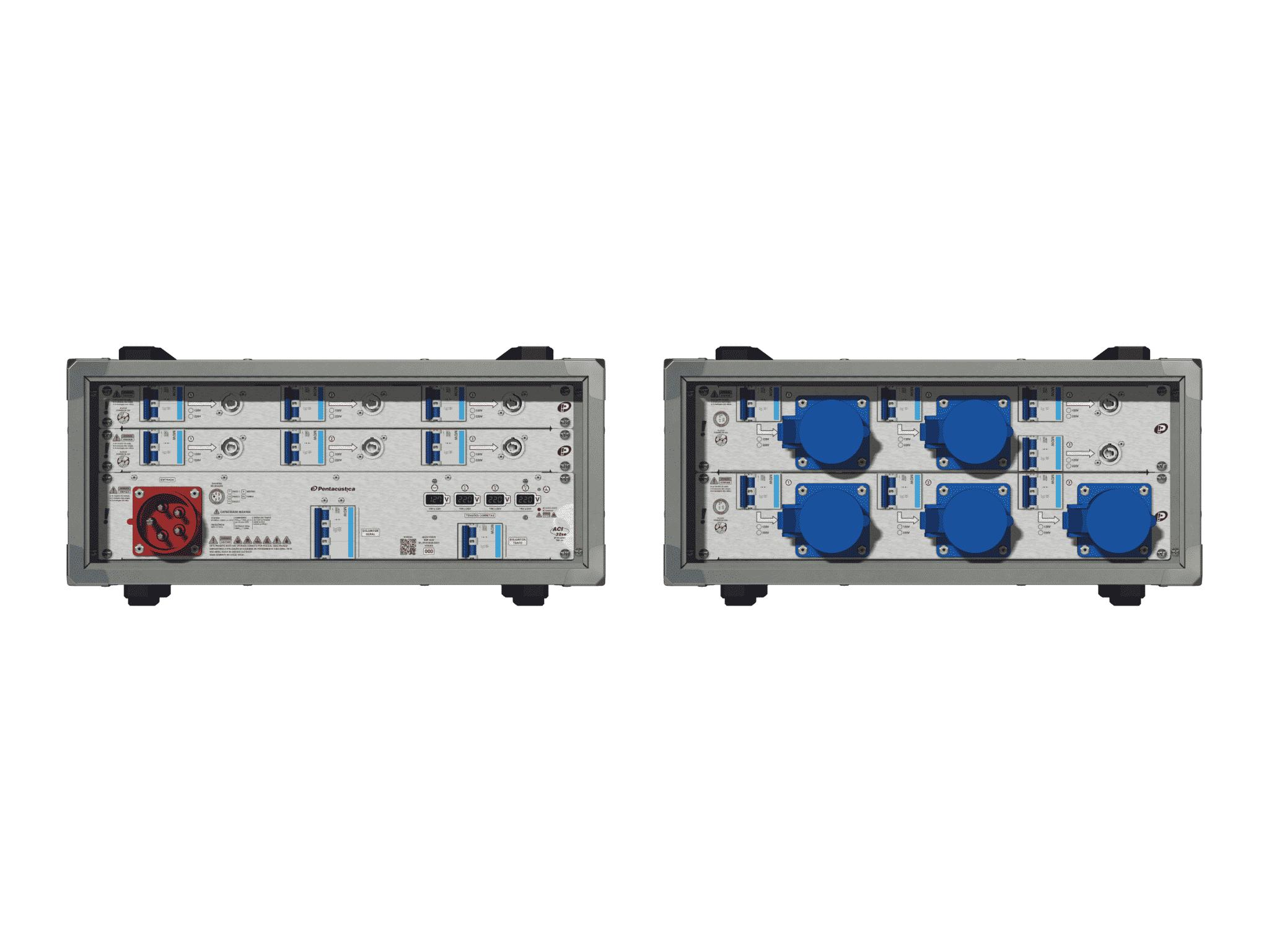 Main power RMP-32se, 5 polos, 3F+N (380VD/220VY), V007