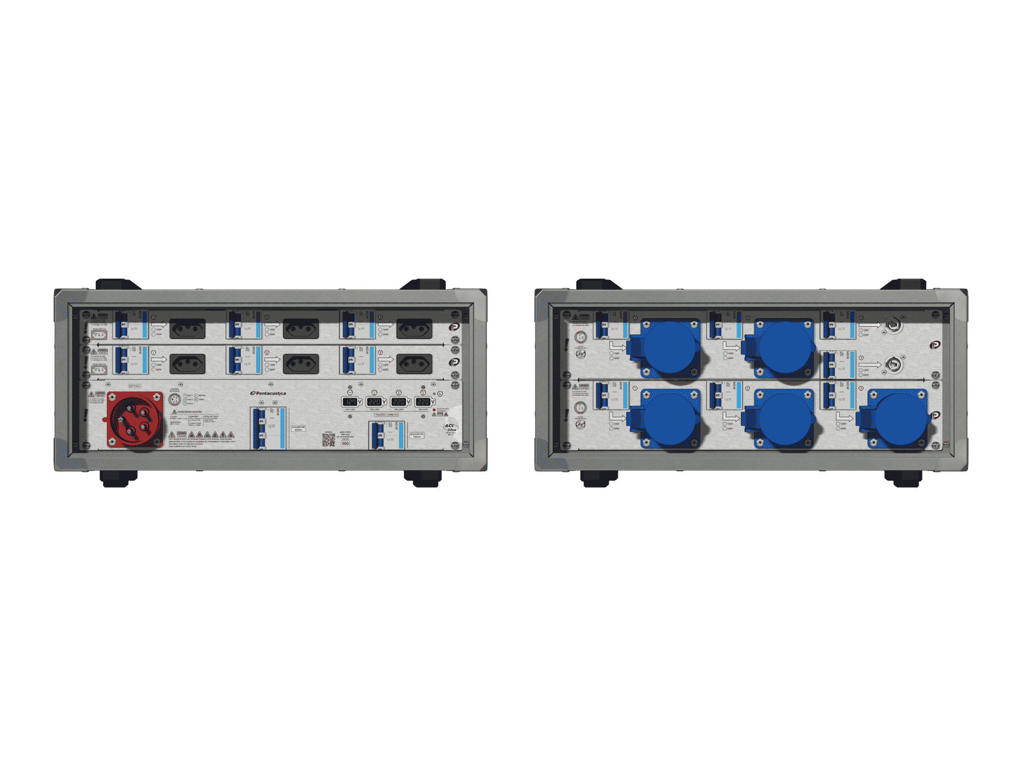 Main power RMP-32se, 5 polos, 3F+N (380VD/220VY), V008
