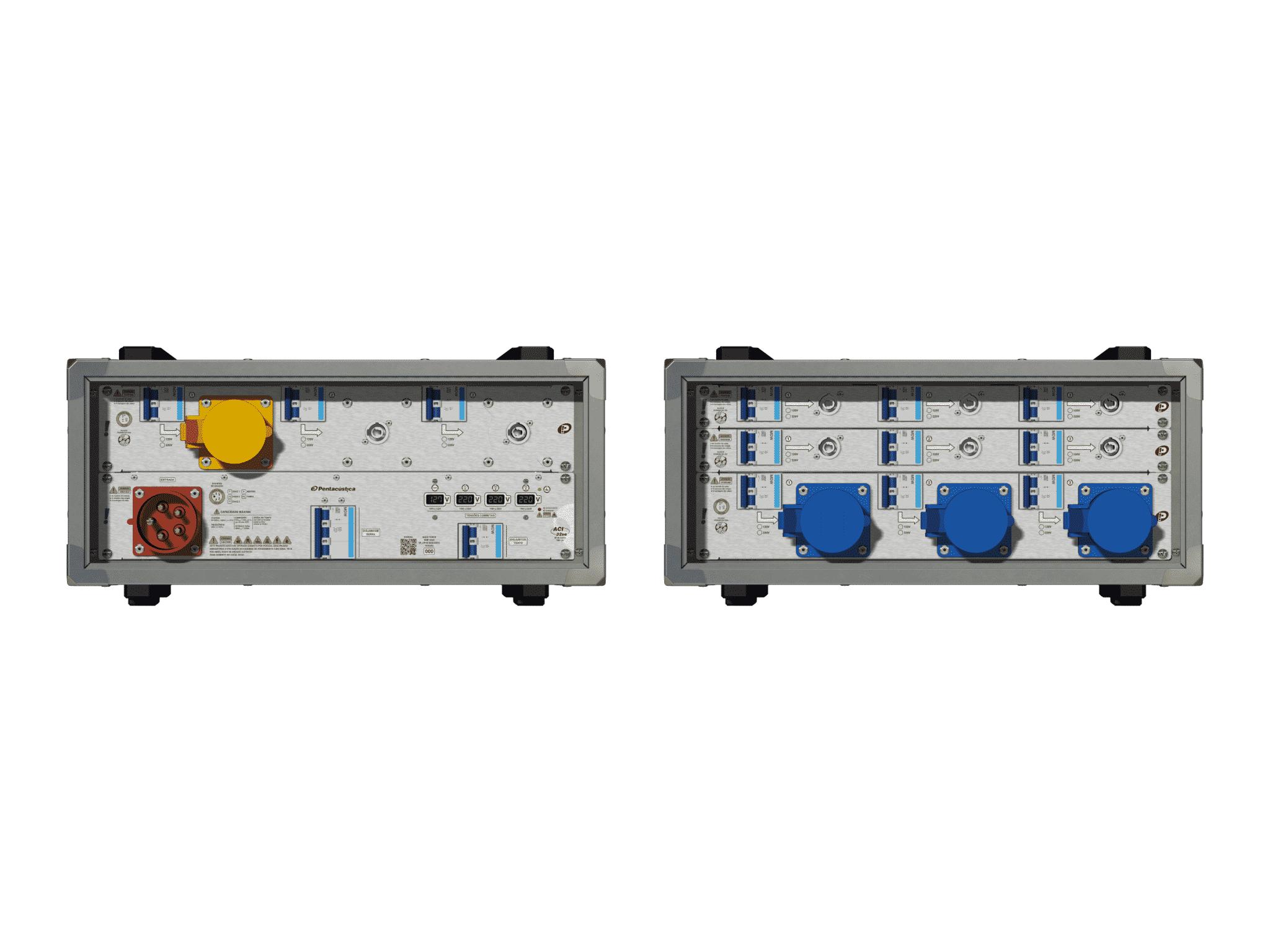 Main power RMP-32se, 5 polos, 3F+N (380VD/220VY), V011