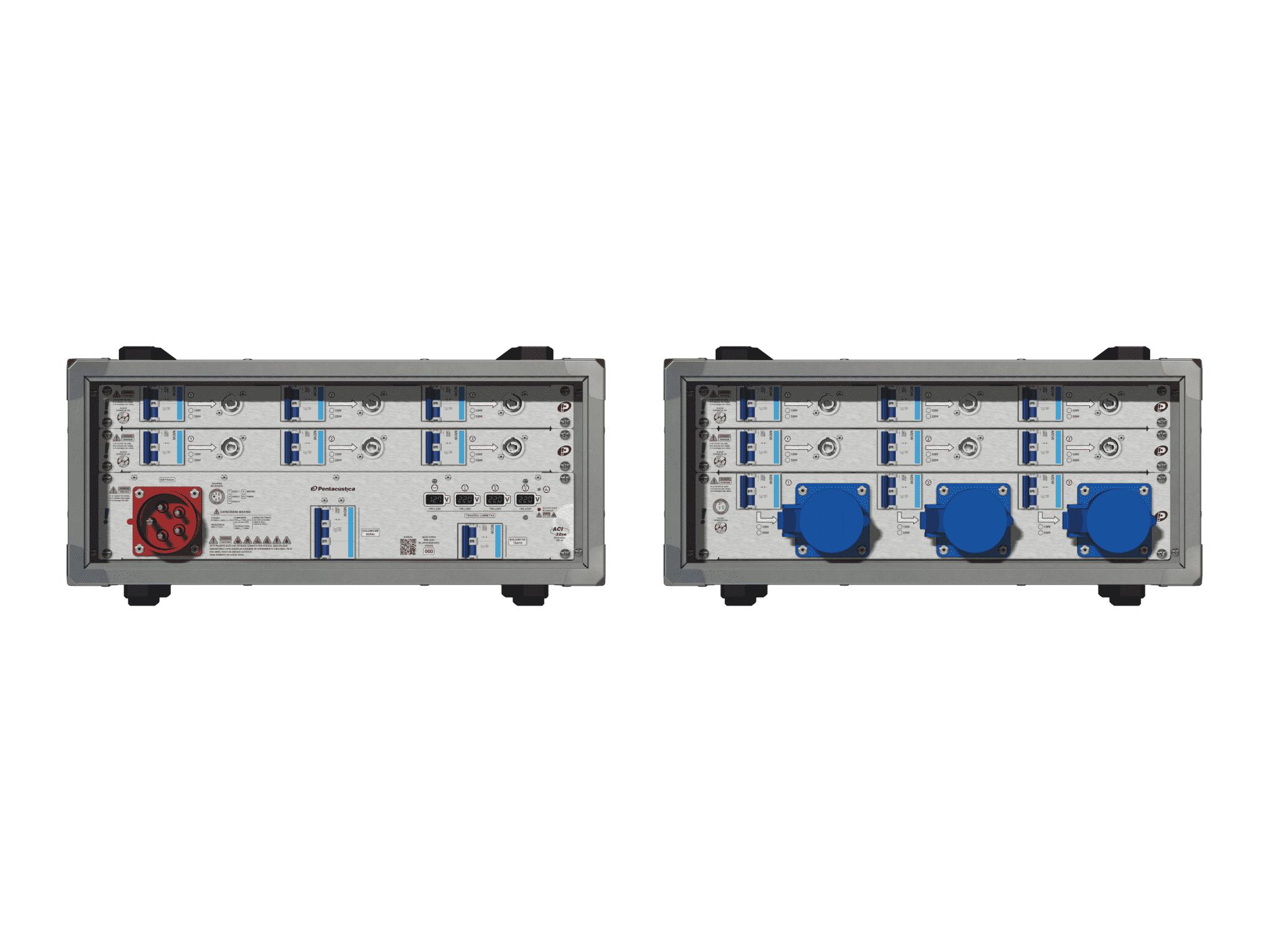 Main power RMP-32se, 5 polos, 3F+N (380VD/220VY), V012