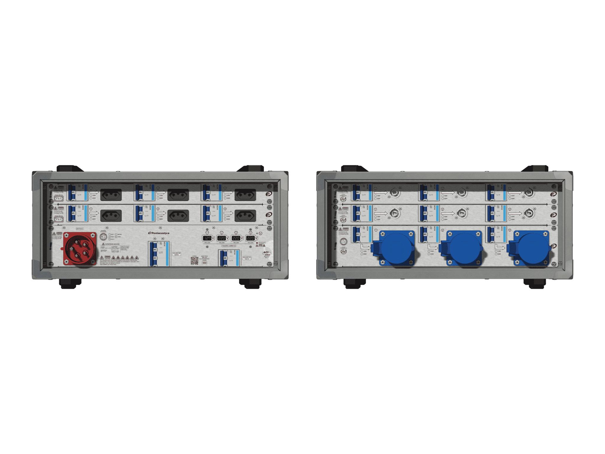 Main power RMP-32se, 5 polos, 3F+N (380VD/220VY), V013