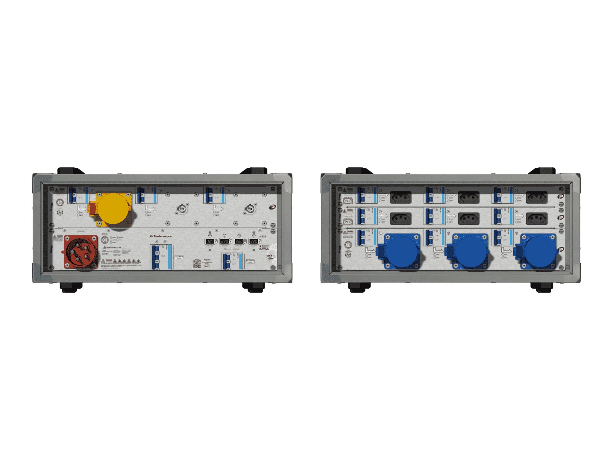 Main power RMP-32se, 5 polos, 3F+N (380VD/220VY), V021