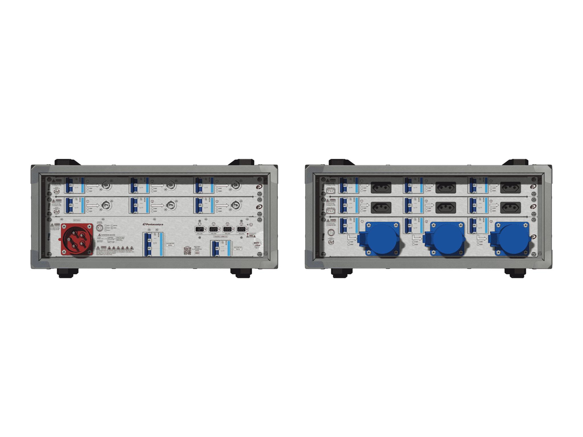 Main power RMP-32se, 5 polos, 3F+N (380VD/220VY), V022