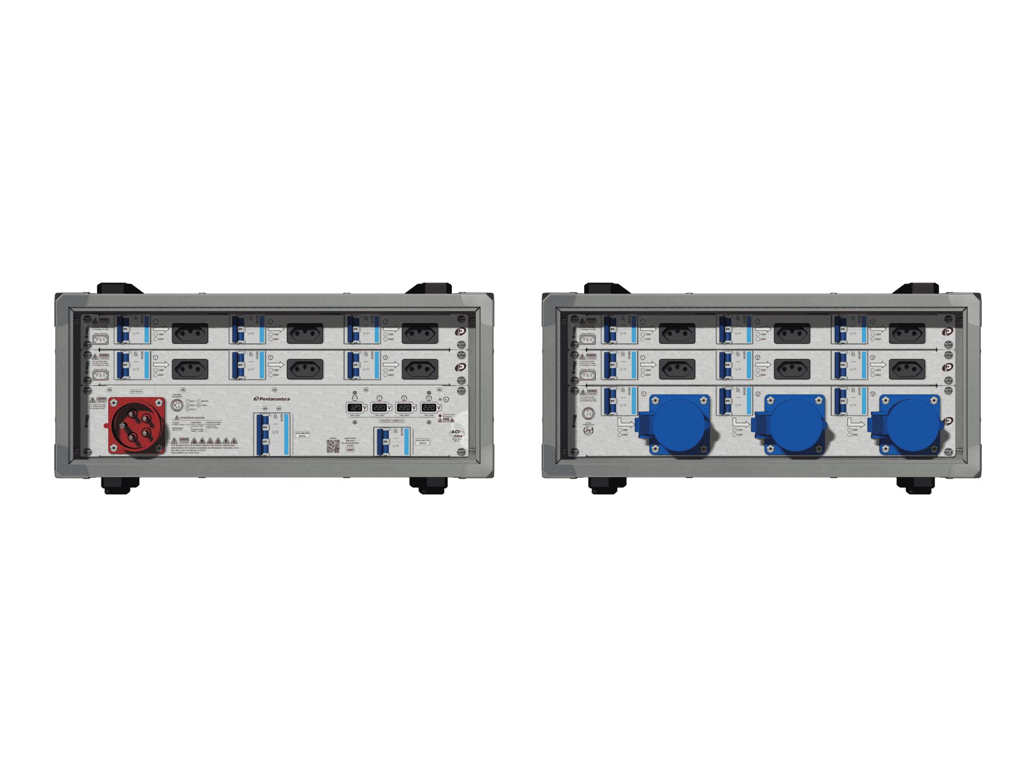 Main power RMP-32se, 5 polos, 3F+N (380VD/220VY), V023