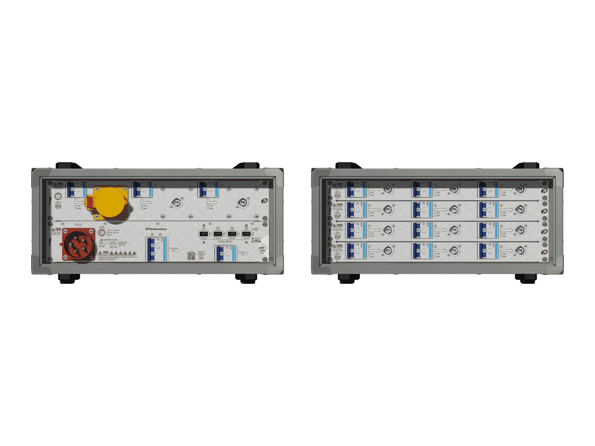 Main power RMP-32se, 5 polos, 3F+N (380VD/220VY), V061