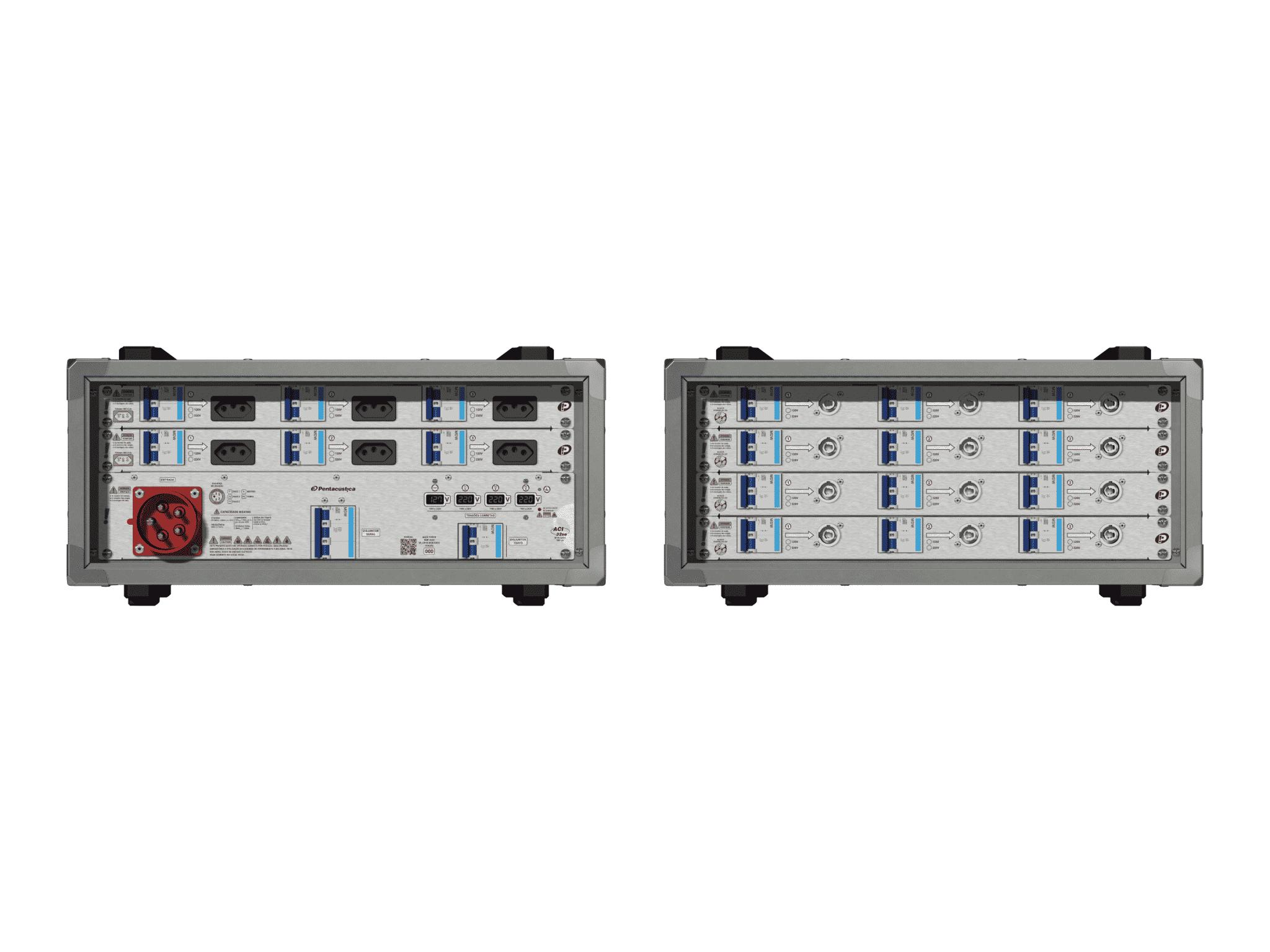 Main power RMP-32se, 5 polos, 3F+N (380VD/220VY), V063