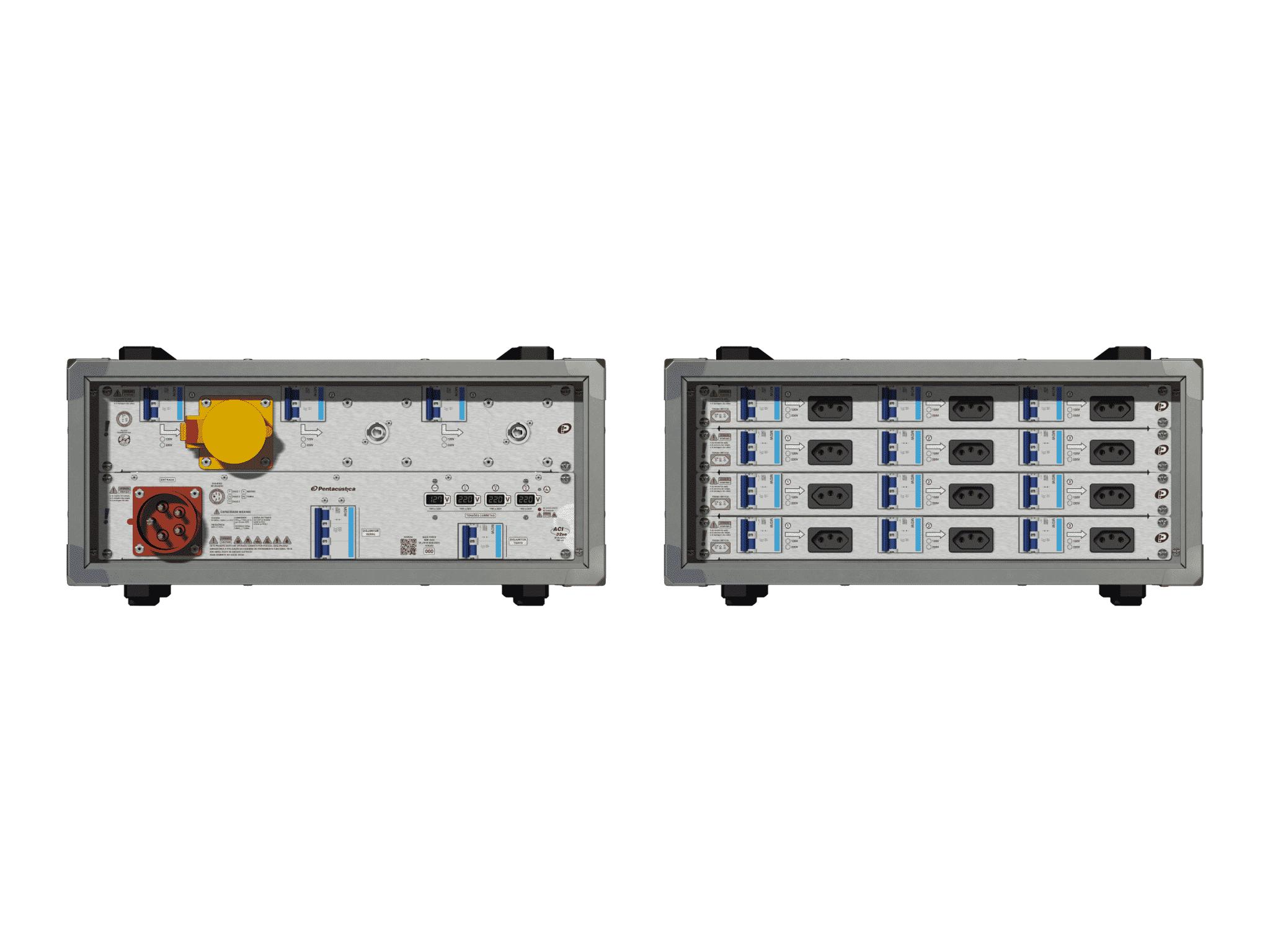 Main power RMP-32se, 5 polos, 3F+N (380VD/220VY), V076