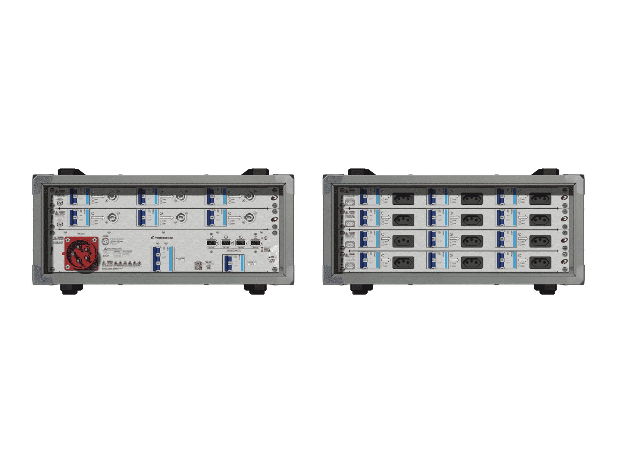Main power RMP-32se, 5 polos, 3F+N (380VD/220VY), V077