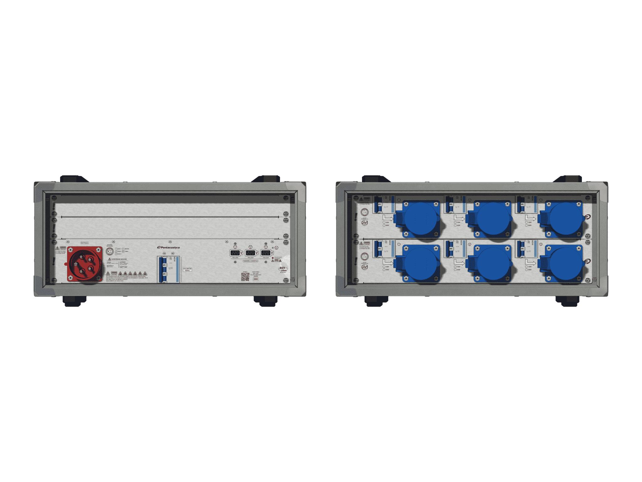 Main power RMP-32se, 5 polos, 3F+N (380VD/220VY), V091