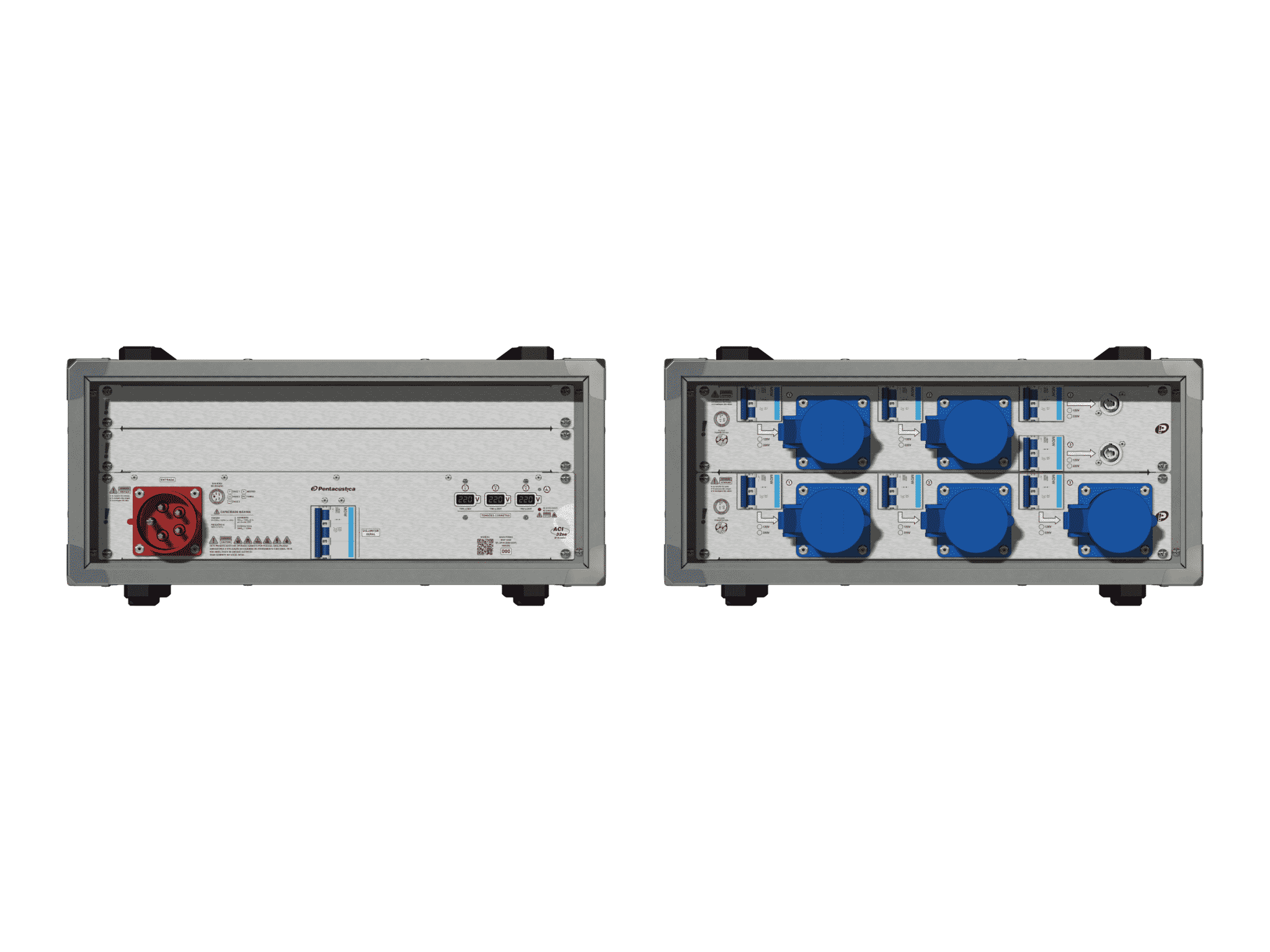 Main power RMP-32se, 5 polos, 3F+N (380VD/220VY), V092