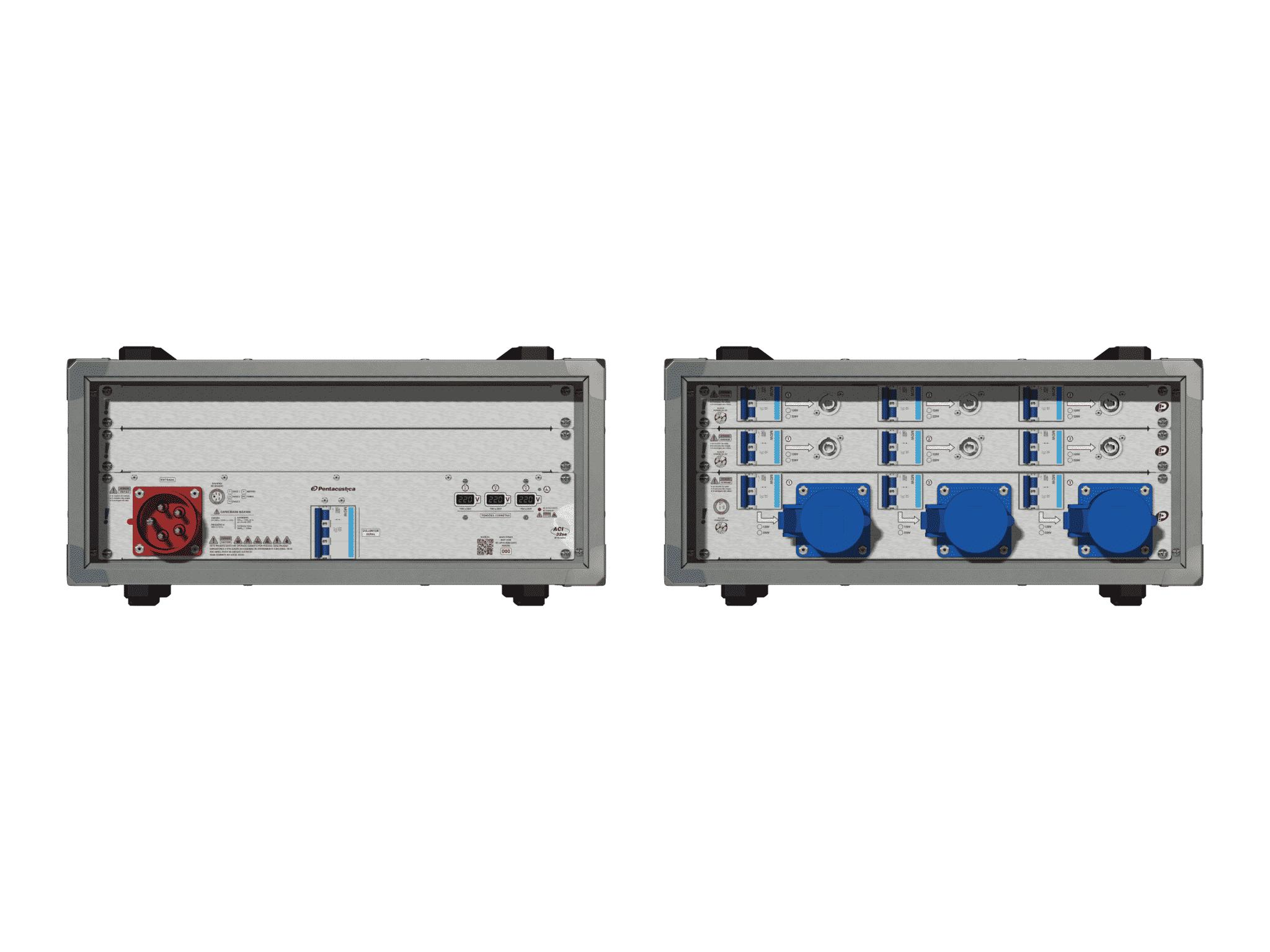 Main power RMP-32se, 5 polos, 3F+N (380VD/220VY), V093