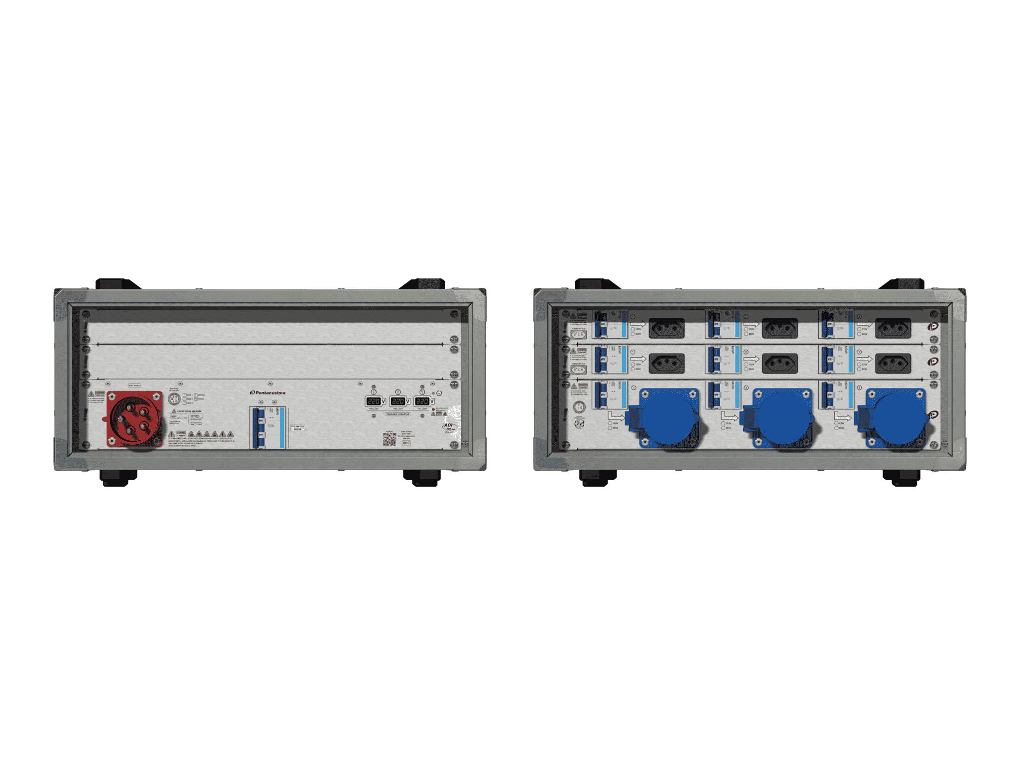 Main power RMP-32se, 5 polos, 3F+N (380VD/220VY), V095