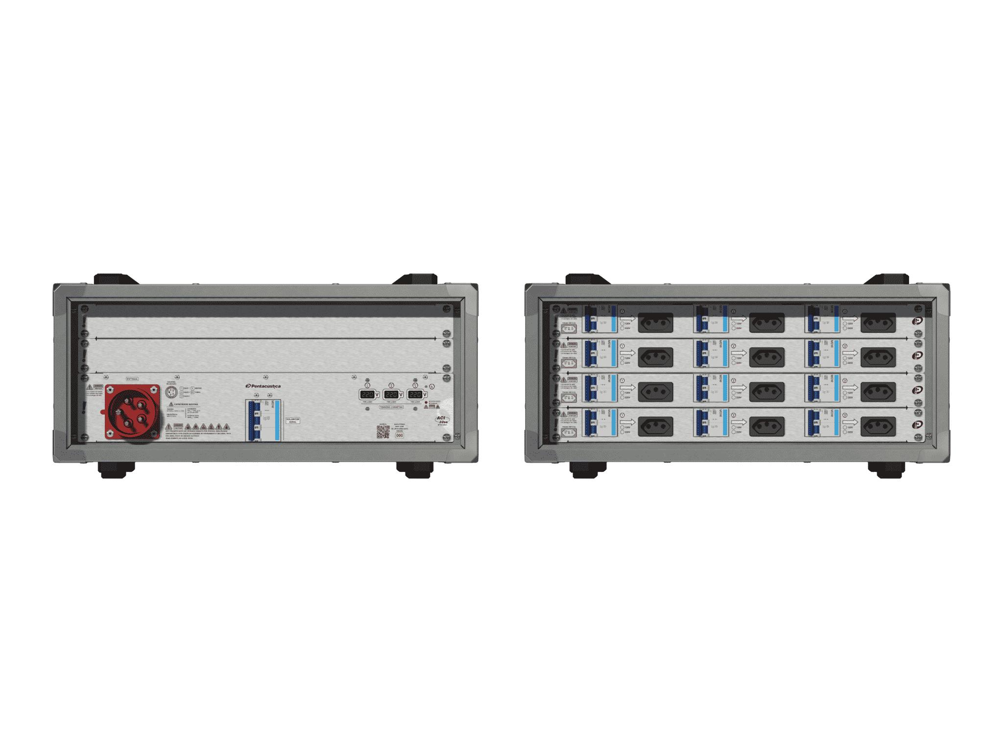 Main power RMP-32se, 5 polos, 3F+N (380VD/220VY), V107
