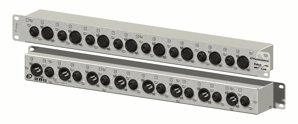 Patch para 8 canais de phone de ouvidos