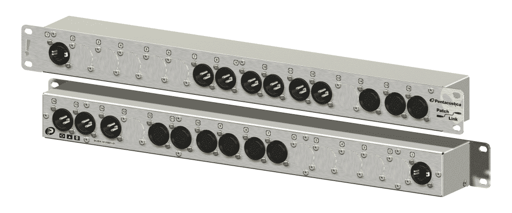 Patch para processador de áudio 3x6