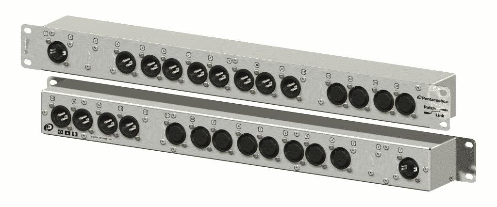 Patch para processador de áudio 4x8