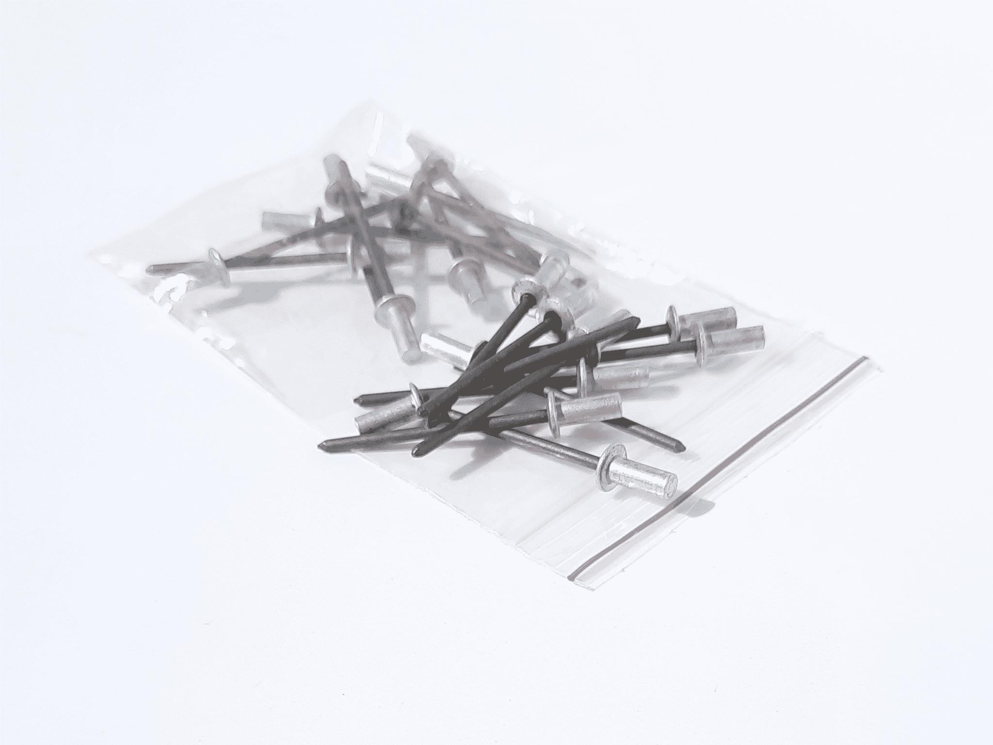 Rebites herméticos 3,2x8mm