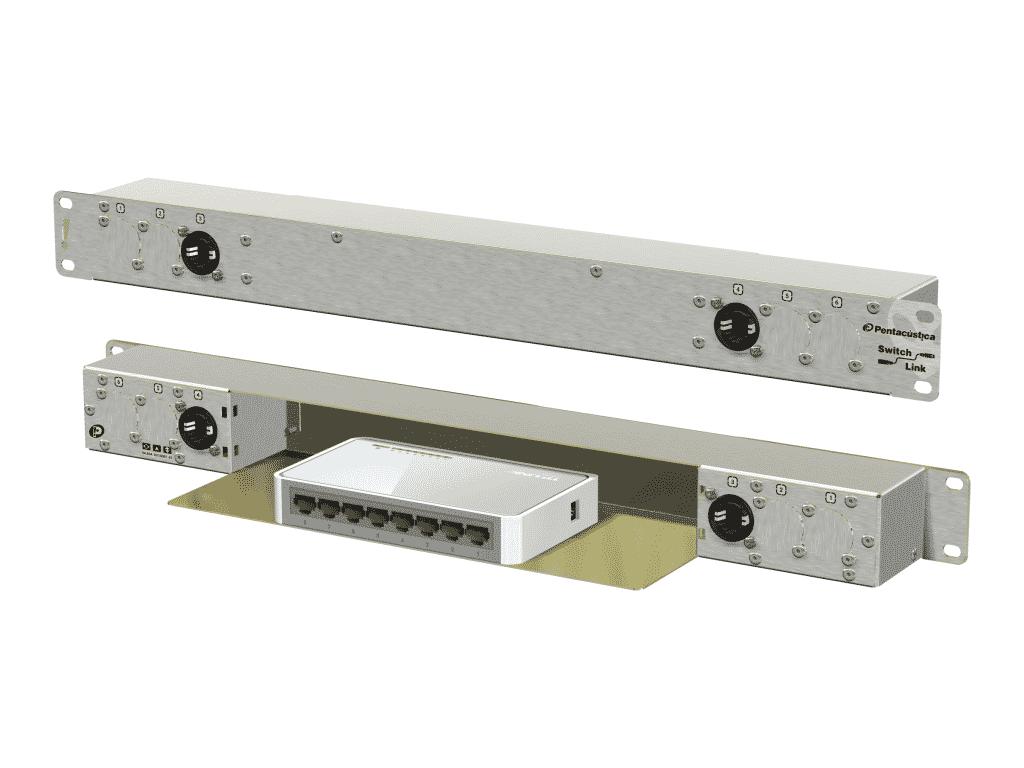 2 I/Os externos e 6 internos. Setup padrão, muito utilizado em racks de amplificadores.