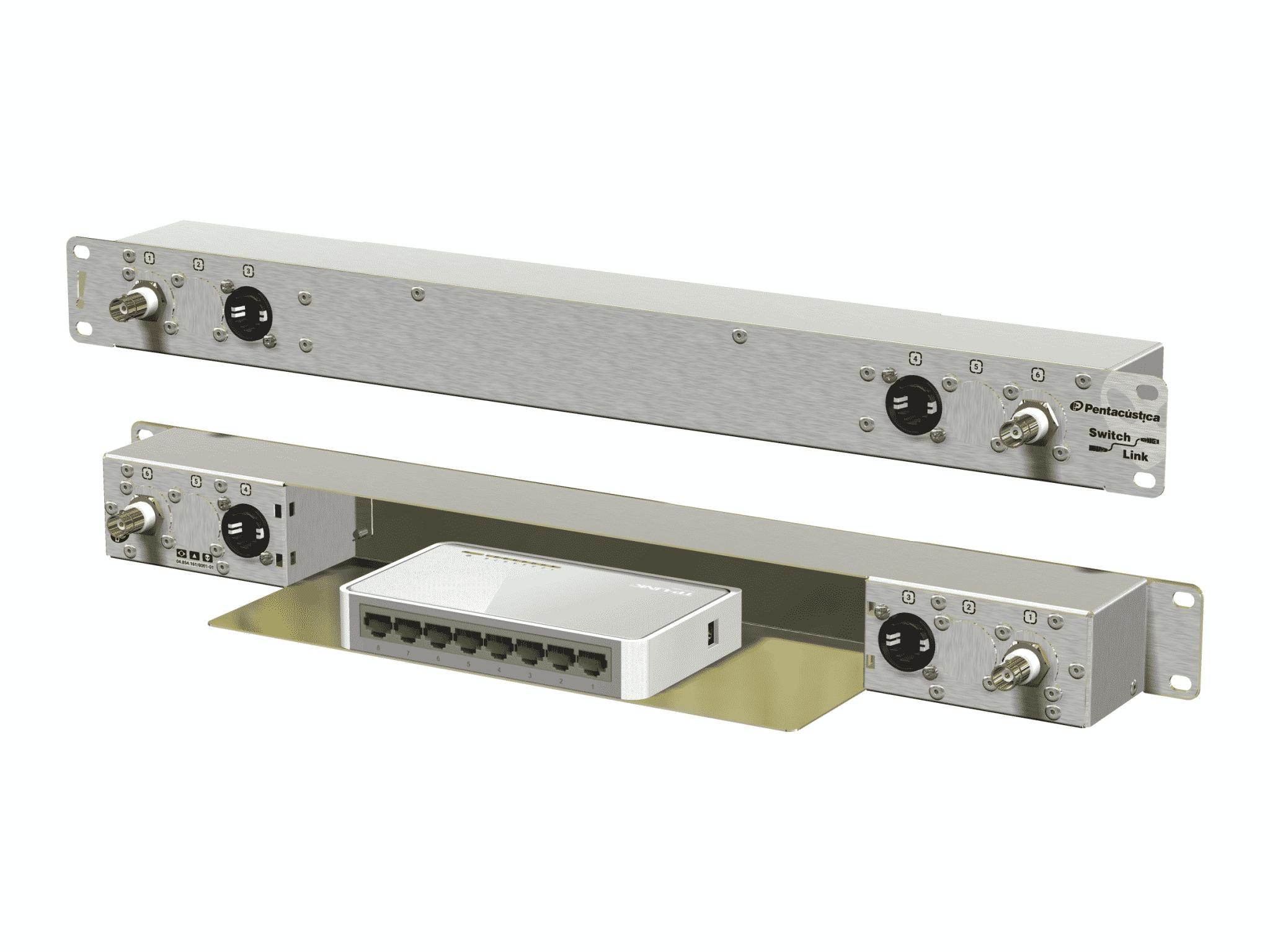 Painel de conexões configurável Switch Link A