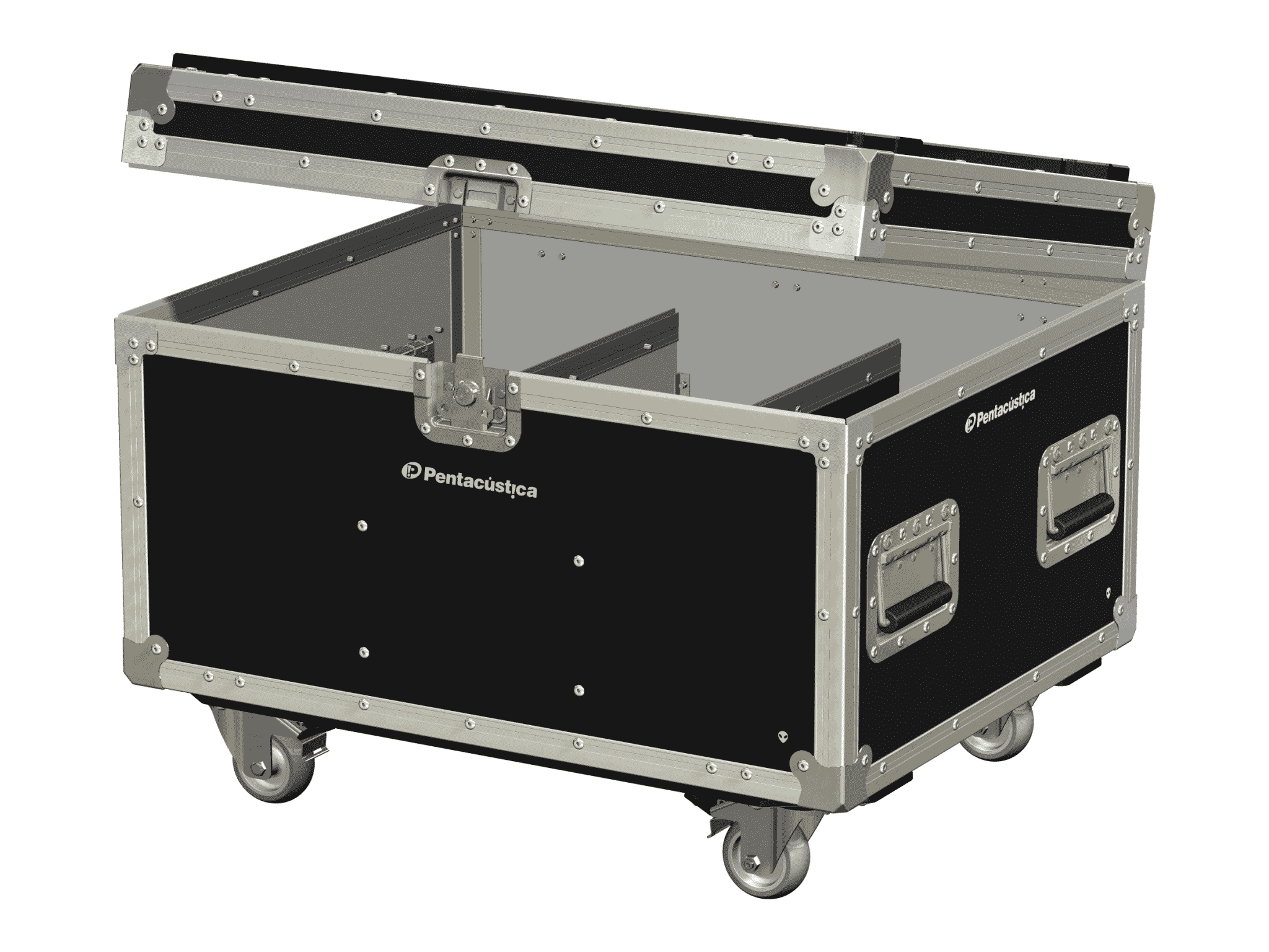 Hard case tipo baú –  Linha Trunk
